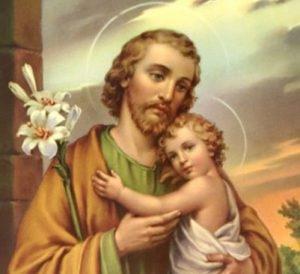 San-Giuseppe Gesù dorato